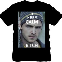 Isaac Morris Men's Breaking Bad - Keep Calm Bitch Jesse man - T-Shirt