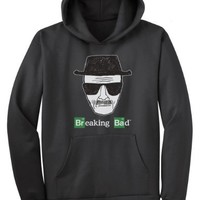 Breaking Bad Heisenberg and Logo Hoodie (Large)