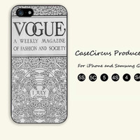 Vintage, VOGUE, iPhone 5 case, iPhone 5C Case, iPhone 5S , Phone case,iPhone 4 Case, iPhone 4S Case, Case,
