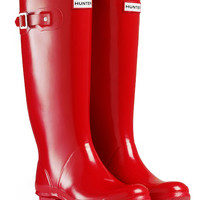 Huntress Gloss Wider Calf Rain Boots | Wellies | Hunter Boots
