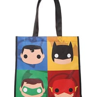 DC Comics Funko Heroes Large Shopper Tote