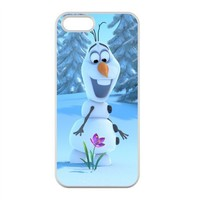 Frozen Disney 3D Cartoon Disney Cartoon Case for iPhone 5,5S 100% TPU (Laser Technology)
