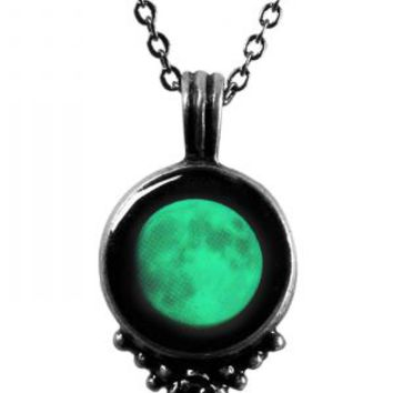 Moonglow Classic Necklace with Black Swarovski | Moonglow Jewelry