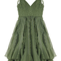 Zac Posen | Nationale pleated dress | NET-A-PORTER.COM