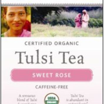 Tulsi Tea Sweet Rose 18 Bags 1.01 OZ