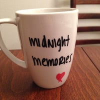 Midnight Memories lyric mug