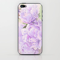 Lavender Peonies iPhone & iPod Skin by Lisa Argyropoulos