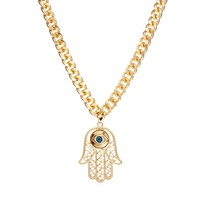 Limited Edition Hamsa Pendant Necklace