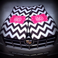 Personalized / Monogrammed Car Mats, Floor Mats, Chevron Floor Mats
