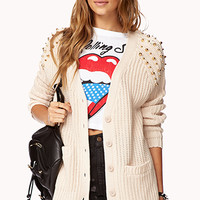 Heavy Metal Boyfriend Cardigan
