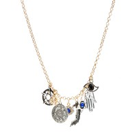 ASOS Talisman Charm Necklace