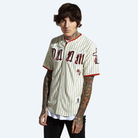 Team DOOM Baseball Jersey