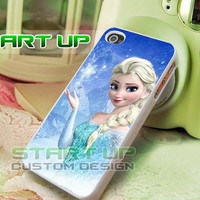 Frozen Poster Movie - iPhone 4/4s/5/5s/5c Case - Samsung Galaxy S2/S3/S4 Case - Black or White