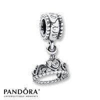 Pandora Dangle Charm My Princess Sterling Silver