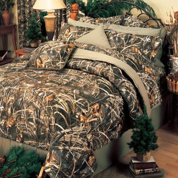 Realtree Max-4 Comforter Set, Full