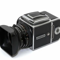 Hasselblad 500CM Medium Format Camera & Zeiss CF80mm Lens