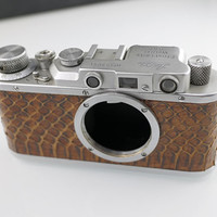 169675 RUSSIAN COPY LEITZ LEICA II CAMERA SILVER BODY 1935