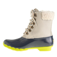 SPERRY TOP-SIDER® FOR J.CREW LEATHER SHEARWATER BOOTS