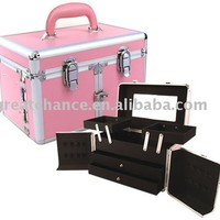 Pink Studio Makeup Case(XY-102), View Pink makeup case, Product Details from Foshan Great Chance Hardware & Case Co., Ltd. on Alibaba.com