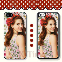 Lana Del Rey, iPhone 5 case iPhone 5c case iPhone 5s case iPhone 4 case iPhone 4s case, Samsung Galaxy S3 \S4 Case, Phone case --X50480