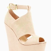 Betsey Johnson Laney Platform Wedge