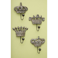 Regency Wall Hooks - Set of 4