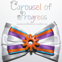 Carousel of Progress Hair Bow