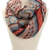 POP TRIBAL INFINITY SCARF