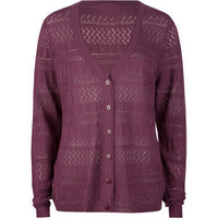 FULL TILT Essential Pointelle Womens Cardigan  193546750 | sweaters & cardigans | Tillys.com