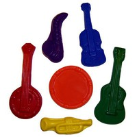 Musical Instrument Crayons  Lil Doodlers tm  Set of by LilDoodlers