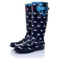 Spy Love Buy ARCTIC Flat Festival Wellies Wellington Rain Boots