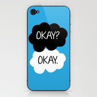 Okay? Okay. iPhone & iPod Skin by Kerrin Rose