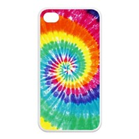 iPhone 4/4s Case - Tie Dye Apple iPhone 4/4s TPU Designer Hard Case Cover Protector