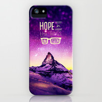 Hope in the things unseen - for iphone iPhone & iPod Case by Simone Morana Cyla