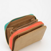 Sinclair Pop Zip-Around Wallet - Urban Outfitters