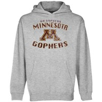 Minnesota Golden Gophers Youth Team Spirit Pullover Hoodie - Ash