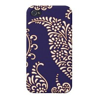 Damask vintage paisley girly floral chic pattern