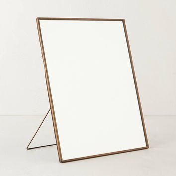 Copper Easel Mirror