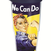 Smithsonian - Rosie the Riveter Wrap with Lid | 24oz Tumbler | Tervis®