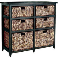 Jolie 6-Drawer Chest - Espresso