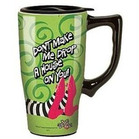 Wizard of Oz Wicked Witch Ceramic Travel Mug