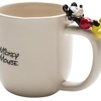 Zak Designs Disney Ceramic Coffee Mug with Figurine