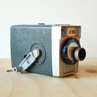 Kodak Brownie 8 Movie Camera 8mm Film Camera Vintage 1960's Decor