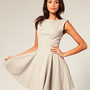 ASOS | ASOS Tailored Full Skirt Dress at ASOS