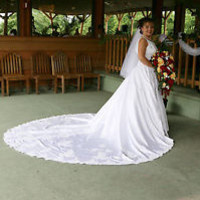 Wedding Dress Used but still beautiful