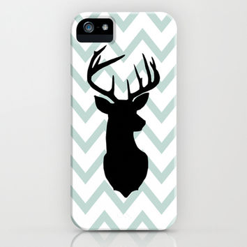 Chevron Deer Silhouette iPhone & iPod Case by daniellebourland