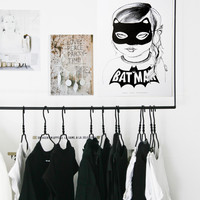 Batgirl print from Mini & Maximus {Exclusive} — BODIE and FOU - Award-winning inspiring concept store