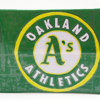 Oakland Athletics Oakland A&#x27;s MLB Duct Tape Wallet by PyrateWench