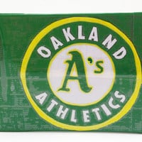 Oakland Athletics Oakland A's MLB Duct Tape Wallet by PyrateWench