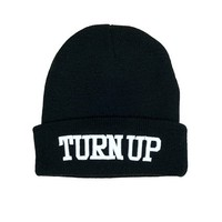 Turn Up Beanie - Accessories - Women - Paper Alligator